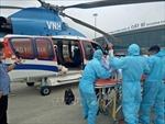 Bay cấp cứu đưa bệnh nhân từ đảo Bạch Long Vĩ về đất liền an toàn