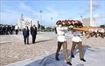 Chủ tịch nước Nguyễn Xuân Phúc đặt vòng hoa tại Đài tưởng niệm Anh hùng dân tộc Jose Marti