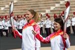 Ngọn đuốc Olympic Bắc Kinh 2022 đã tới Trung Quốc