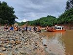 Tình hình mưa lũ ngày 25/10: Mưa to trở lại gây khó công tác cứu nạn