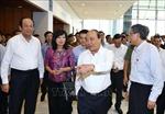 Thủ tướng Nguyễn Xuân Phúc dự Tổng duyệt Hội nghị Diễn đàn Kinh tế thế giới về ASEAN 2018