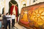 Trưng bày những bức tranh quý về Bác Hồ tại Nhà hát Lớn Hà Nội
