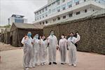 Nữ bác sĩ mang thai 9 tháng xung phong ở lại Bệnh viện Bạch Mai để chăm sóc bệnh nhân