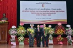 Đại học Bách khoa Hà Nội có Chủ tịch Hội đồng trường và Hiệu trưởng mới