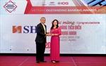 SHB được vinh danh 2 giải thưởng Ngân hàng Việt Nam tiêu biểu 2020