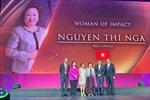 Madame Nguyễn Thị Nga lần thứ 6 được vinh danh 'Người có tầm ảnh hưởng nhất châu Á trong lĩnh vực Gôn'