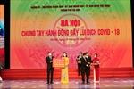Thêm 55 tỷ ủng hộ Hà Nội mua vaccine phòng chống COVID-19 từ Tập đoàn Sun Group