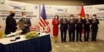 Lễ ký thỏa thuận hợp tác giữa Bamboo Airways và General Electric