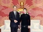 Chủ tịch Quốc hội Nguyễn Thị Kim Ngân tiếp Bí thư Ủy ban Kiểm tra Kỷ luật Trung ương Trung Quốc
