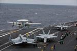 Cú hạ cánh lỗi trên tàu sân bay khiến 4 tiêm kích hư hại