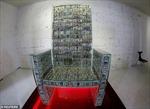 Chiêm ngưỡng ngai vàng xếp từ 1 triệu USD tiền mặt của tỷ phú Nga