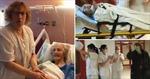 Y bác sĩ Tây Ban Nha xếp hàng vỗ tay mừng cụ bà 101 tuổi đánh bại COVID-19