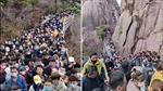Trung Quốc vừa nới lỏng lệnh phong tỏa, các điểm du lịch chật kín người