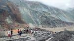 Số người chết trong vụ sập mỏ ở Myanmar tăng lên trên 100