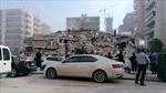 Khoảnh khắc tòa nhà cao tầng sập trong nháy mắt do động đất tại Thổ Nhĩ Kỳ