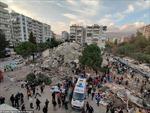 Khung cảnh tan hoang sau trận động đất mạnh rung chuyển Thổ Nhĩ Kỳ