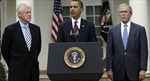 Ba cựu Tổng thống Mỹ tuyên bố sẵn sàng tiêm vaccine COVID-19 công khai