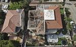 Đống đổ nát sau 'cơn mưa tên lửa' trong căng thẳng Israel-Palestine