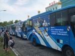 Indonesia biến xe buýt công cộng thành điểm tiêm vaccine COVID-19