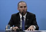 Bộ trưởng Kinh tế Argentina đến châu Âu đểđàm phán lại các khoản nợ