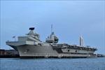 Nhóm tàu sân bay của Anh sẵn sàng tập trận tại Ấn Độ Dương