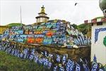 Công trình kinh Phật chạm khắc trên đá ở Trung Quốc được công nhận kỷ lục thế giới