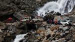 Số người thiệt mạng vì lũ lụt, lở đất ở Ấn Độ và Nepal tăng gấp đôi