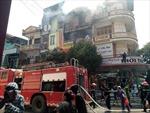 Thanh Hóa: Cháy lớn tại cửa hàng kinh doanh bếp ga, đồ gia dụng