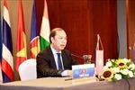ASEAN 2020:Hội nghị Quan chức cao cấp (SOM) ASEAN-Ấn Độ lần thứ 22 theo hình thức trực tuyến