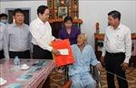 Đồng chí Trần Thanh Mẫn thăm, tặng quà Tết cho gia đình chính sách tại tỉnh Hậu Giang