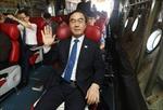 Phái đoàn Hàn Quốc tới Triều Tiên giao hữu bóng rổ liên Triều