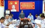 Đoàn công tác của Ủy ban Trung ương MTTQ Việt Nam làm việc tại Sóc Trăng