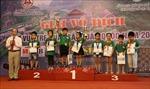 Bế mạc Giải Cờ vua trẻ xuất sắc toàn quốc năm 2018
