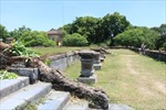 Tôn tạo điện Kiến Trung, nơi ở của hai vị vua cuối cùng triều Nguyễn