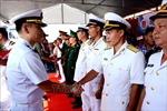 Tàu Hải quân Hàn Quốc thăm xã giao thành phố Đà Nẵng