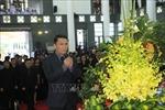 Đoàn Thông tấn xã Việt Nam viếng Chủ tịch nước Trần Đại Quang