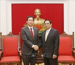 Trưởng Ban Tổ chức Trung ương tiếp Đoàn đại biểu Đảng Cộng sản Nhật Bản
