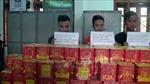 Nghệ An bắt 3 đối tượng mua bán trái phép 126 bánh pháo nổ