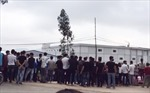 Gần 3.800 công nhân ngừng việc tạp thể ở Thanh Hóa