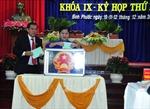 Bình Phước công bố kết quả lấy phiếu tín nhiệm đối với 28 chức danh do HĐND bầu