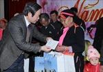 Phó Chủ tịch Quốc hội Phùng Quốc Hiển chúc Tết tại các xã biên giới Lai Châu