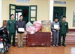 Giấu 113 kg pháo lậutrong bao tải dứa và thùng carton vận chuyển về Việt Nam