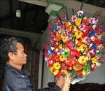 Làng hoa giấy Thanh Tiên vào vụ Tết