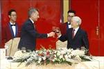 Tổng Bí thư, Chủ tịch nước Nguyễn Phú Trọng và Phu nhân chiêu đãi Tổng thống Argentina và Phu nhân