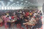 Bảo đảm chất lượng bữa ăn ca cho người lao động vùng dịch tả lợn châu Phi