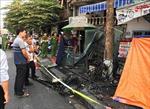 Hỏa hoạn thiêu rụi cửa hàng xe máy điện, 3 người trong 1 gia đình thiệt mạng