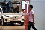 Tesla điều tra vụ xe cháy tại Thượng Hải (Trung Quốc)