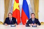 Thủ tướng Nguyễn Xuân Phúc và Thủ tướng Liên bang Nga đồng chủ trì họp báo