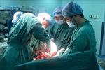 Cứu sống sản phụ bị vỡ tử cung, con bị suy tim