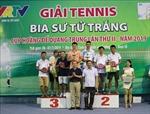 Bế mạc và trao thưởng Giải Tennis Cúp Hoàng đế Quang Trung 2019